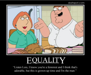 Feminists beware! Here's the ultimate chauvinist who, like it or not ...
