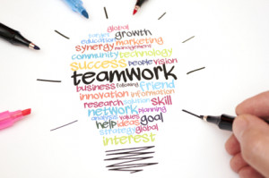 Teamwork Lightbulb