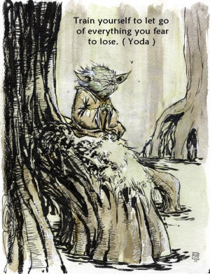Original sketch by http://skottieyoung.deviantart.com/art/Yoda ...