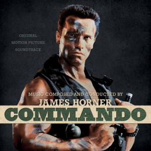 ScoreKeeper Has Five CDs of James Horner's COMMANDO to Give Away!!