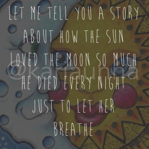 Sun and moon quote
