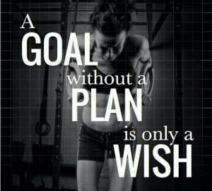 Make a plan for your dreams