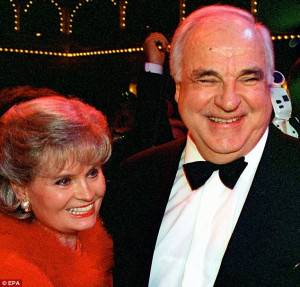 Affair: The sons say they were told by a friend of Helmut Kohl that he ...