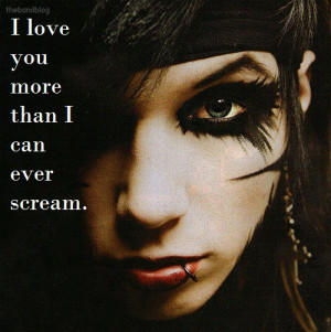 Andy Biersack Quotes About Love Andy Sixx Quotes About