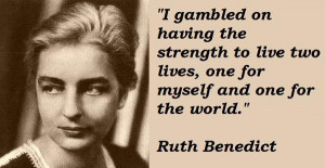 Ruth benedict famous quotes 2