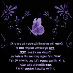 purple butterflies quotes