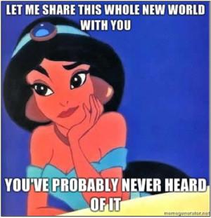 OOTD: Hipster Princess Jasmine