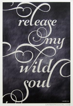 12x18 Wild Soul Art Print by Earmark Social