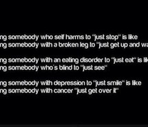 Eating Disorders Self Harm Quotes