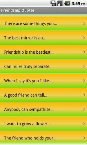 Friendship Quotes - screenshot