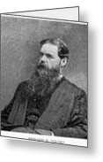 Sir Edward Burnett Tylor Greeting Card by Granger