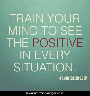 Positive quotes f