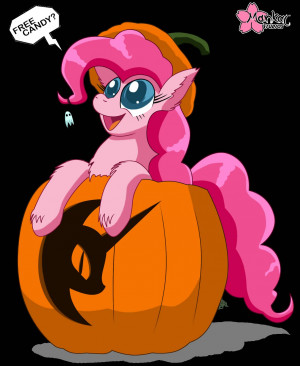 Pinkie Pie Halloween fanart - My Little Pony: Friendship is...