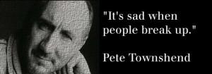 Pete Townshend - It's Sad...