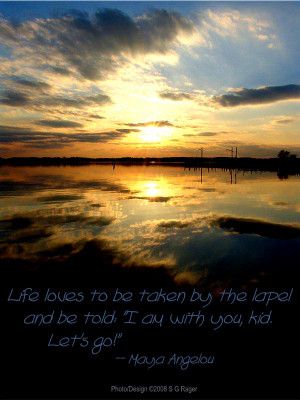 Sun Sets with Quotes