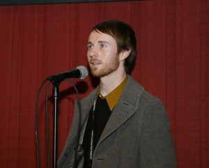 Aaron Ruell at event of New York Doll (2005)