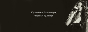 If Your Dreams Dont Scare You Rihanna Quote Picture