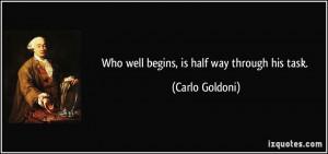 More Carlo Goldoni Quotes