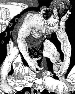 Odysseus and the Cyclops Greek Mythology
