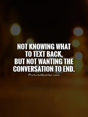 Quotes About Not Texting Back
