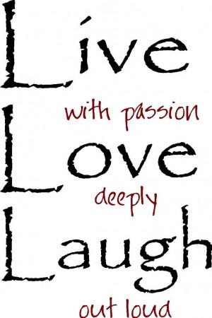 love Silhouette Clip Art | Live Laugh Love Out Loud Vinyl Wall Art ...