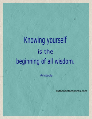 Aristotle Quotes Knowing...
