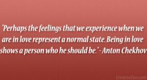 Anton Chekhov Quote