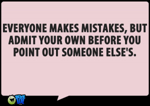 Making mistakes quotes
