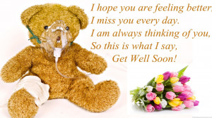 ... Am Always Thinking Of You, So This Is What I Say, Get Well Soon