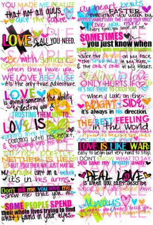 Colorful Quotes About Love Love quotes
