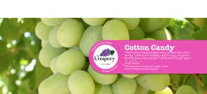 image 1 via pocketmole , image 2 via Unique Cotton Candy Grapes: A ...