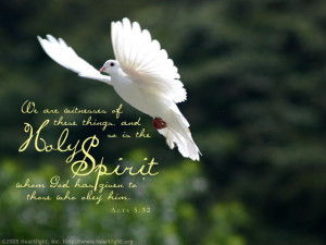 Do you pray for the Holy Spirit to strengthen you in faith, hope and ...