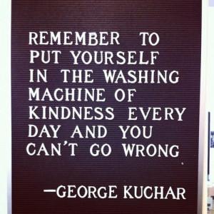 washing machine of kindness