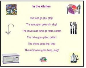 Funny Onomatopoeia Poems Kids