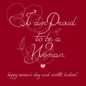 am Proud to be a Woman