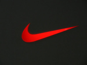 Red Nike Logo Picture