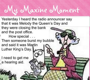 my maxine moment~