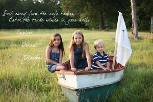 The Winding Road: Grandpa's boat