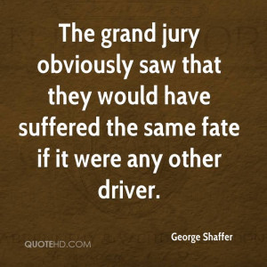 The Grand Jury Obviously Saw That They Would Have Suffered The Same ...