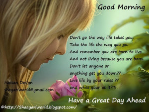 Good Morning Tuesday. Inspiring Quotes for the day