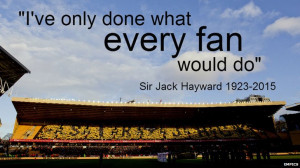 BBC News - Sir Jack Hayward: Wolverhampton says goodbye to 'one of a ...
