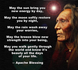 May the sun bring you new energy by day, May the moom softly restore ...