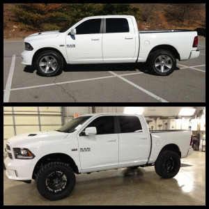 Looks fantastic!! I almost bought a white 2012 but the black 2013 ...