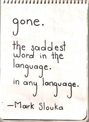 emo, gone, heartbroken, love, quote, sad