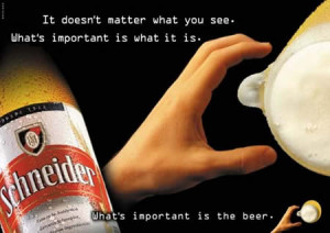10. Suggestive ad, suggestive for beer? = )