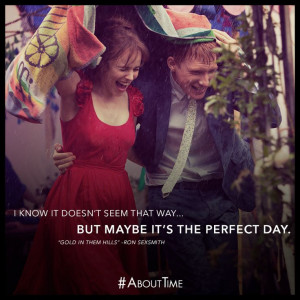 ... But maybe it's the perfect day.- this is the best movie of all time