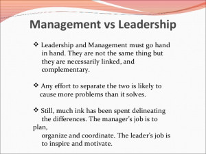 Leadership vs Management Quotes
