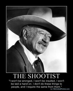 One more John Wayne….