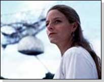 Jodi Foster as Ellie Arroway from Contact the movie