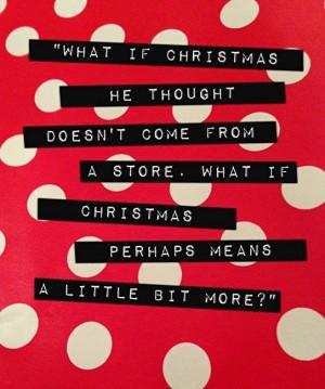 Christmas perhaps means a bit more
